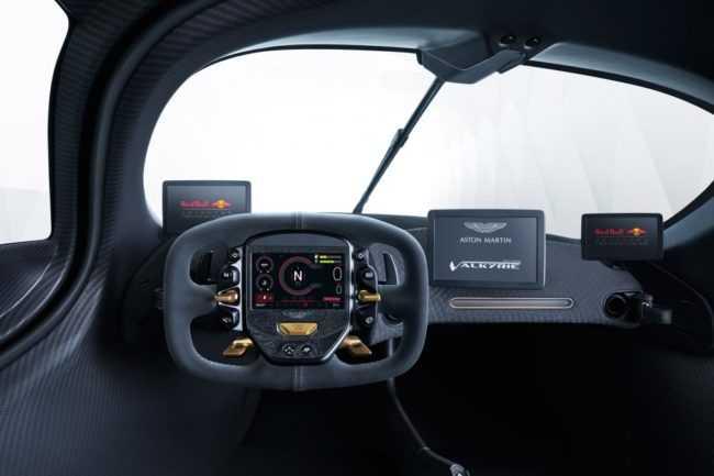 Aston Martin Valkyrie Futuristic Interior
