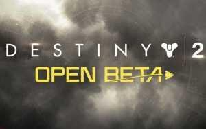 Destiny 2 Open Beta on PS4