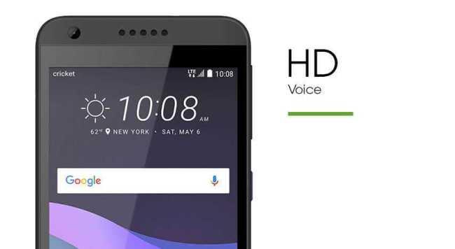 HTC Desire 555 HD voice