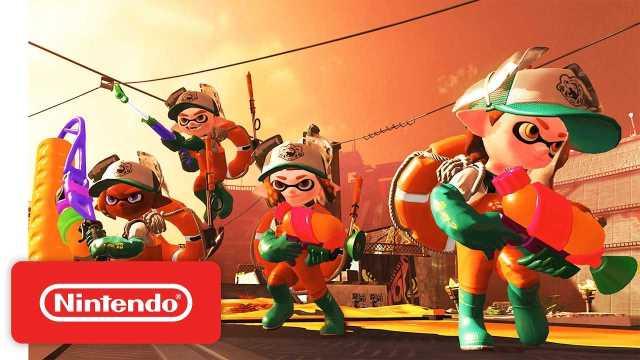 Nintendo switch splatoon 2 salmon run