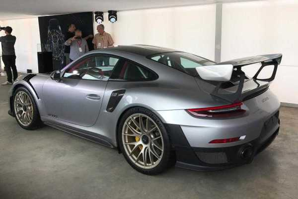 Porsche 911 GT2 RS at Goodwood Festival