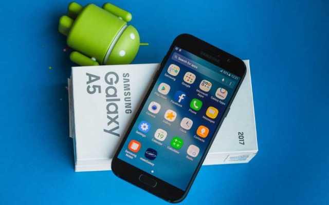 Samsung Galaxy A5 Nougat