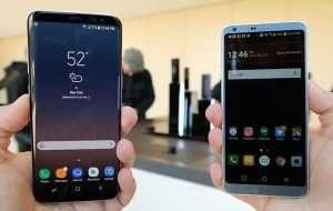Samsung Galaxy S8 and LG G6