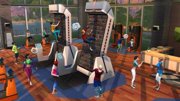 Sims 4 Fitness