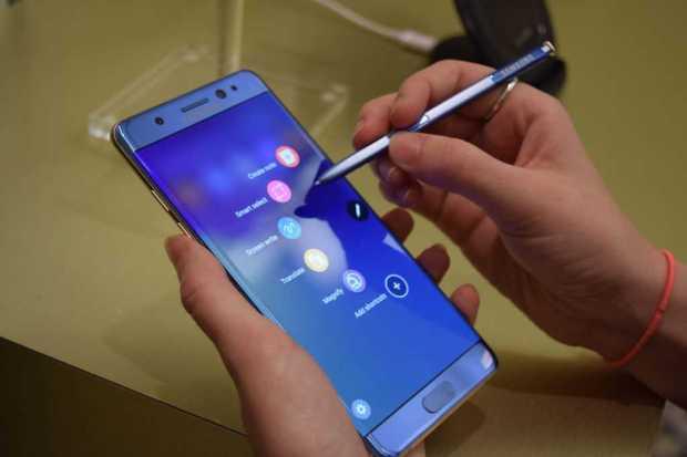 Standalone Bixby samsung Galaxy Note 8