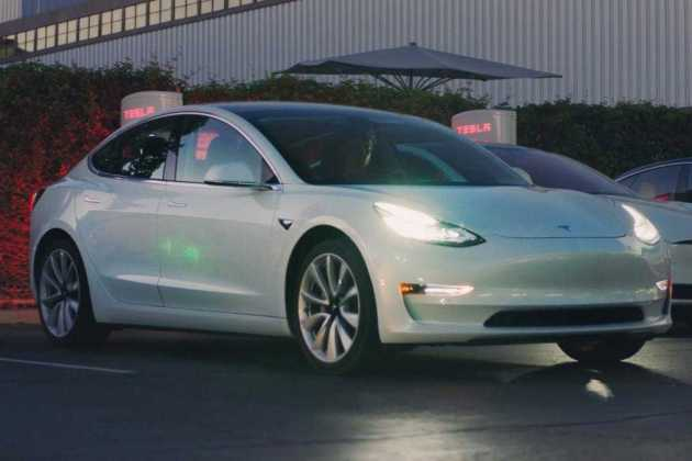 Tesla Model 3 look