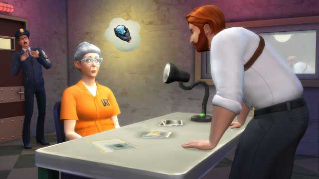 The Sims 4 detective