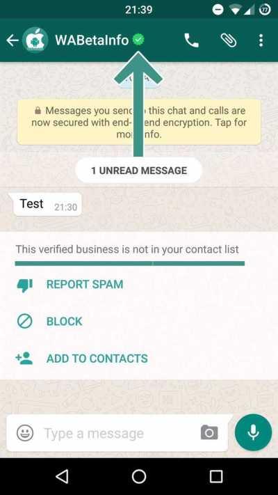 Whatsapp announcement