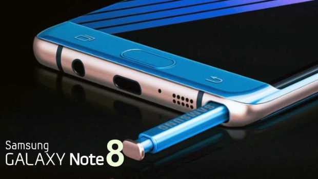 samsung galaxy note 8 phone look