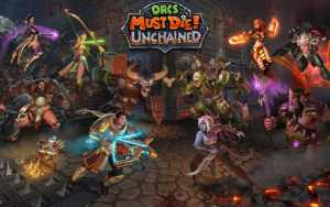 sony ps4 orcs must die