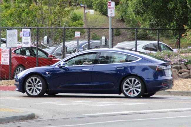 stylish look Tesla Model 3