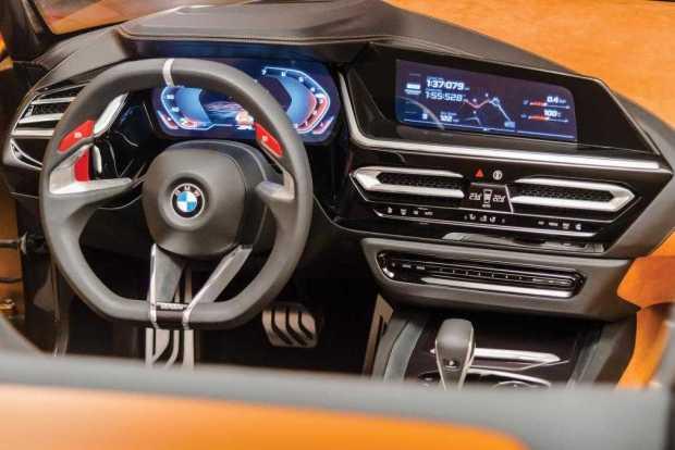 2018 BMW Z4 interior