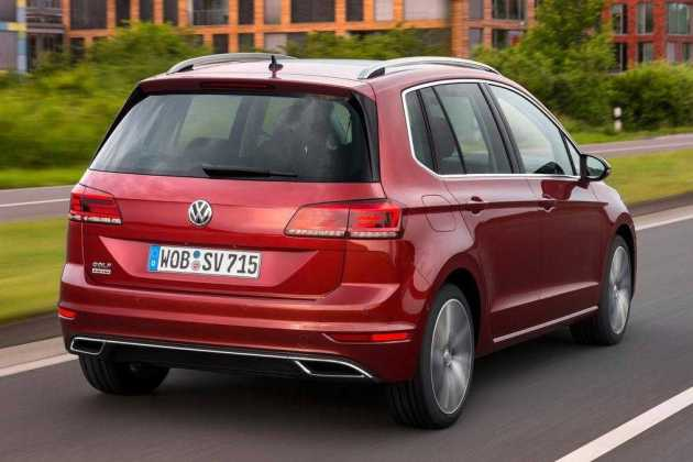 2018 Volkswagen Golf SV new look