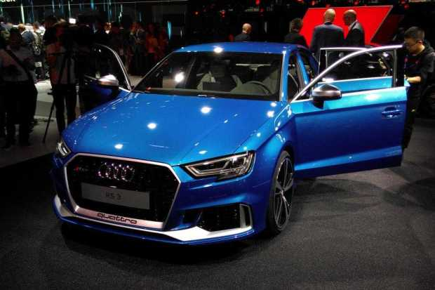 Audi RS3 Saloon front