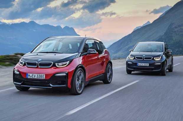 BMW i3s and i3 EV Models Frankfurt Show