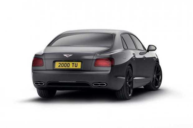 Bentley Flying Spur V8 S Black Edition rear