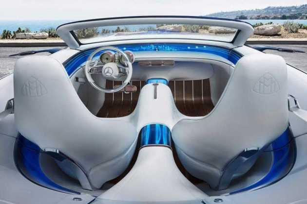 Mercedes Maybach 6 Cabriolet intr