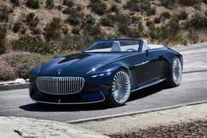 Mercedes Maybach 6 Cabriolet look