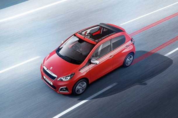 Peugeot 108 red