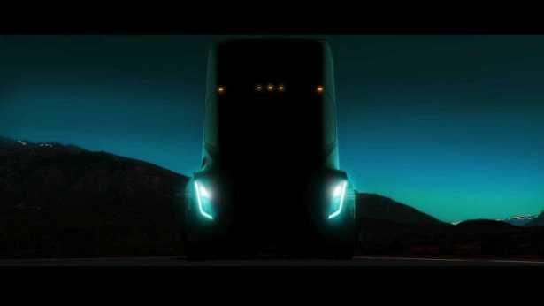 Tesla Electric Truck 300 Miles