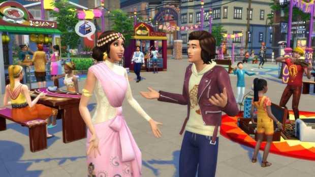 The Sims 4 night stuff