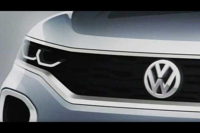Volkswagen T-ROC SUV look