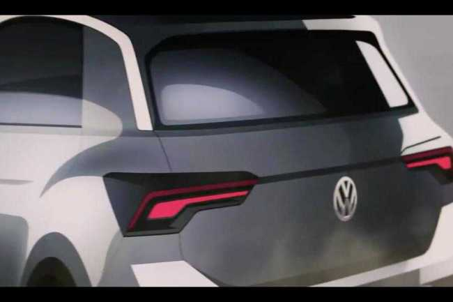 Volkswagen T-ROC SUV rear