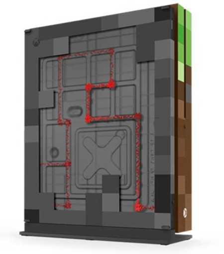 Xbox One S Minecraft Edition microsoft
