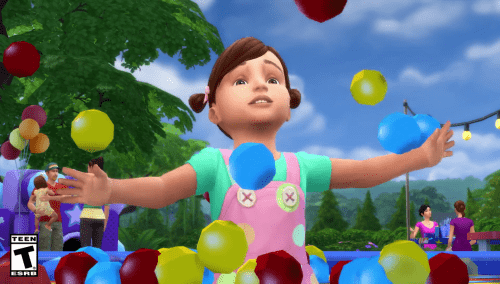 the Sims 4 Toddler stuff pack EA