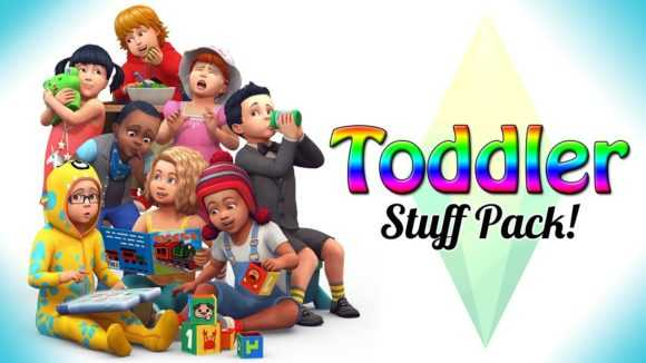 the Sims 4 Toddler stuff pack