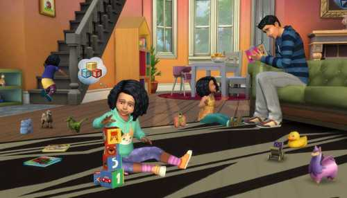 the Sims 4 Toddler stuff pack update