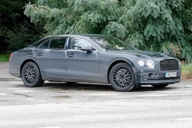 2018 Bentley Flying Spur spy