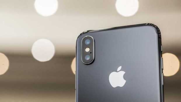 Apple iPhone X rear