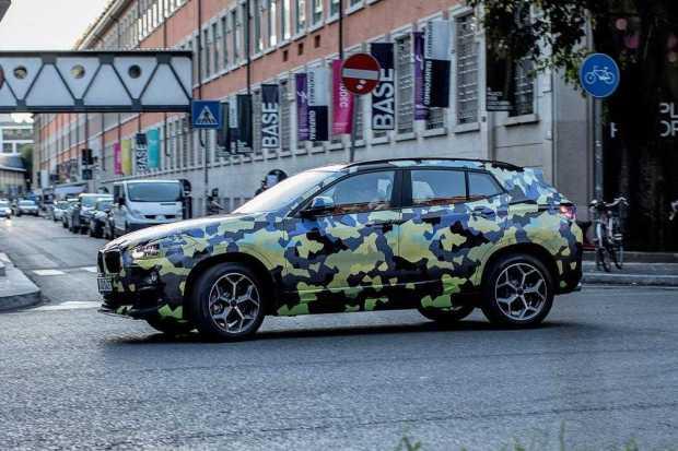 BMW X2 SUV Milan Fashion Week