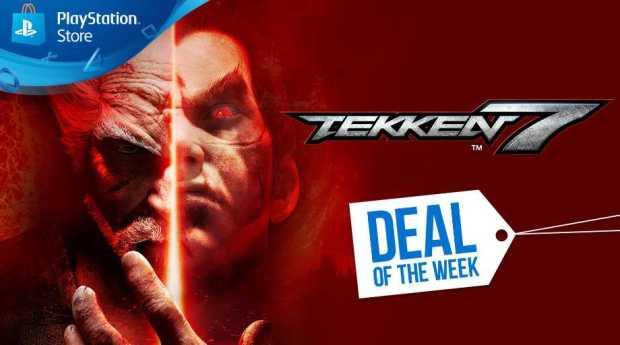 Huge Discounts on PS4 Titles Tekken 7