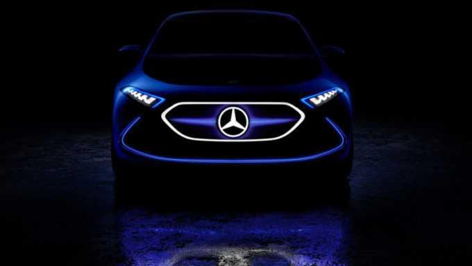 Mercedes Benz Releases Teaser Image of EQ