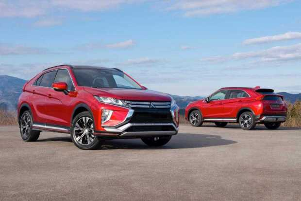 Mitsubishi Eclipse Cross look