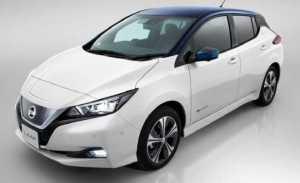 New 2018 Nissan Leaf
