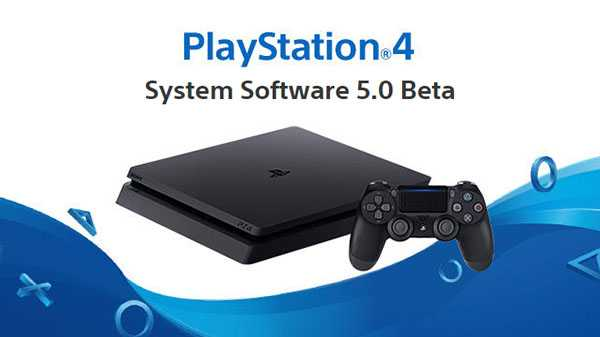 PS4 Firmware 5.0 Beta Update