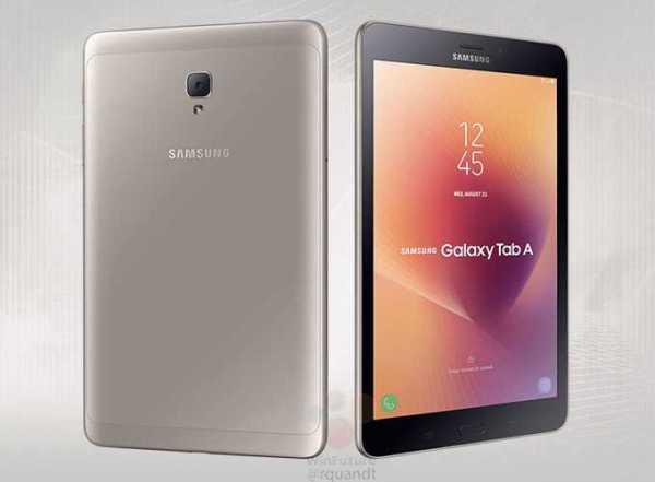 Samsung Galaxy Tab A2 S look