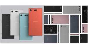 Sony Xperia XZ1 and XZ1 Compact look