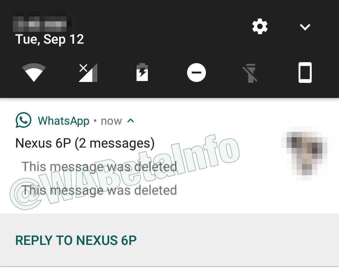 Whatsapp Notification Center