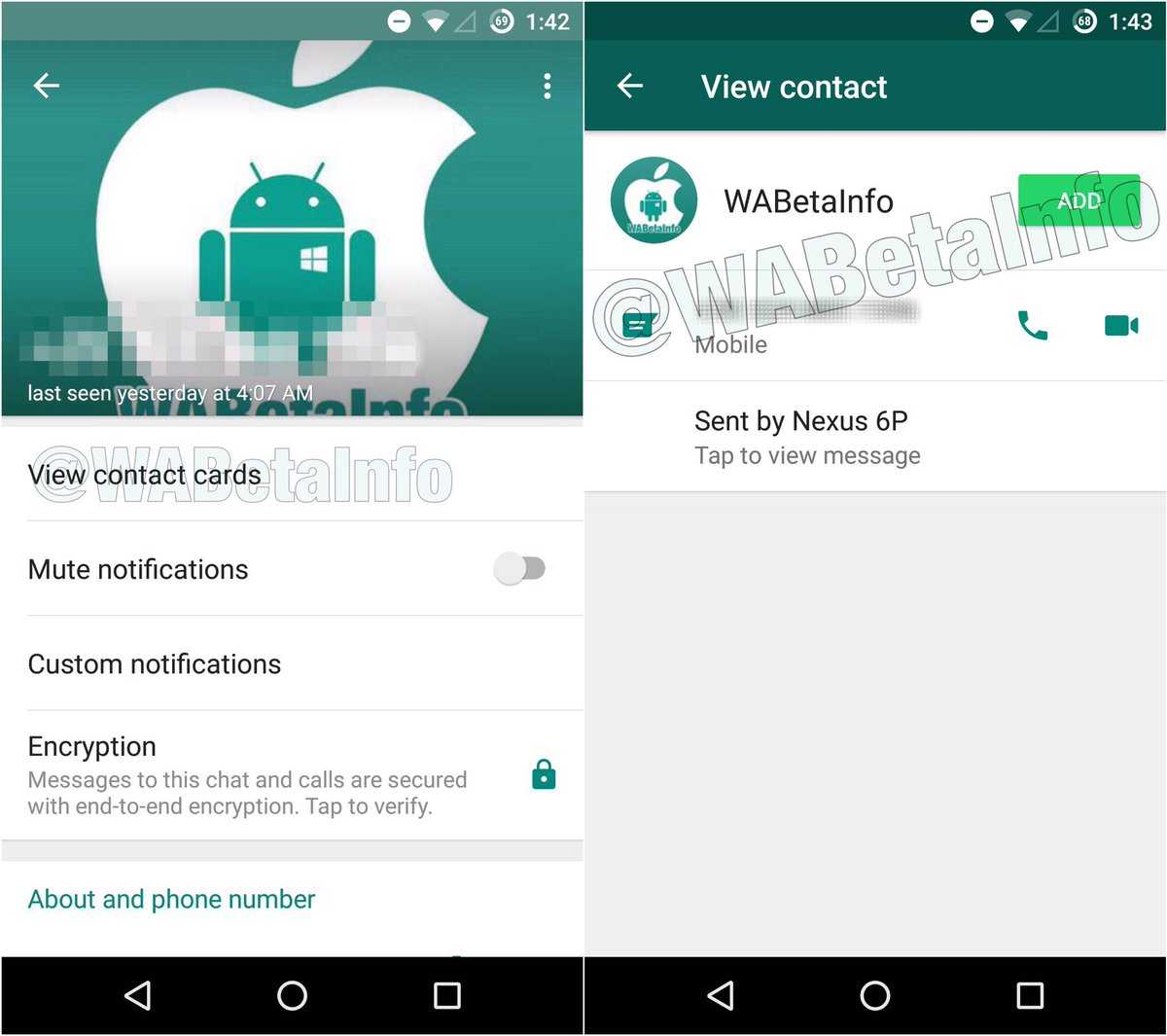 Whatsapp Will Soon Display Info on Unknown Numbers