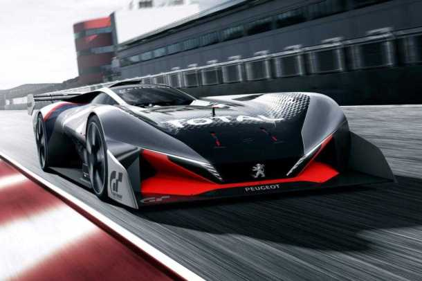 Peugeot L750R Unveiled in PS4 Game