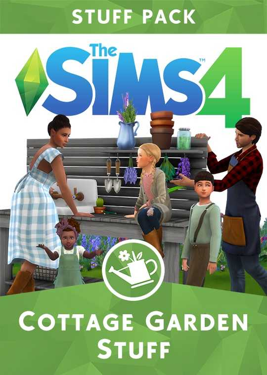 The Sims 4 Cottage Garden Stuff Pack