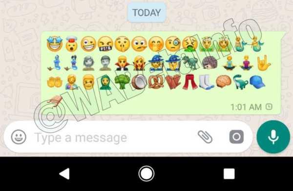 Whatsapp Android 2.17.264 New Expressive Emojis