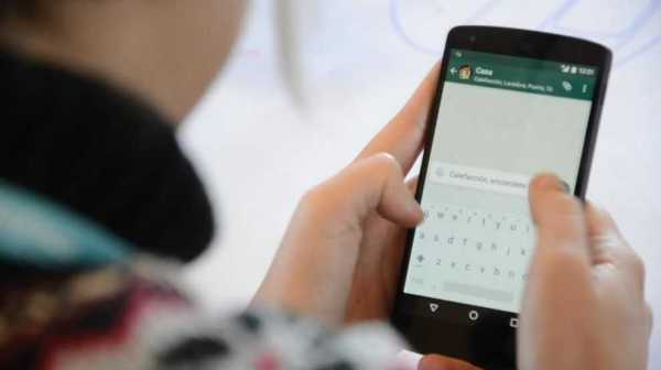 Whatsapp UI for iPad in Development
