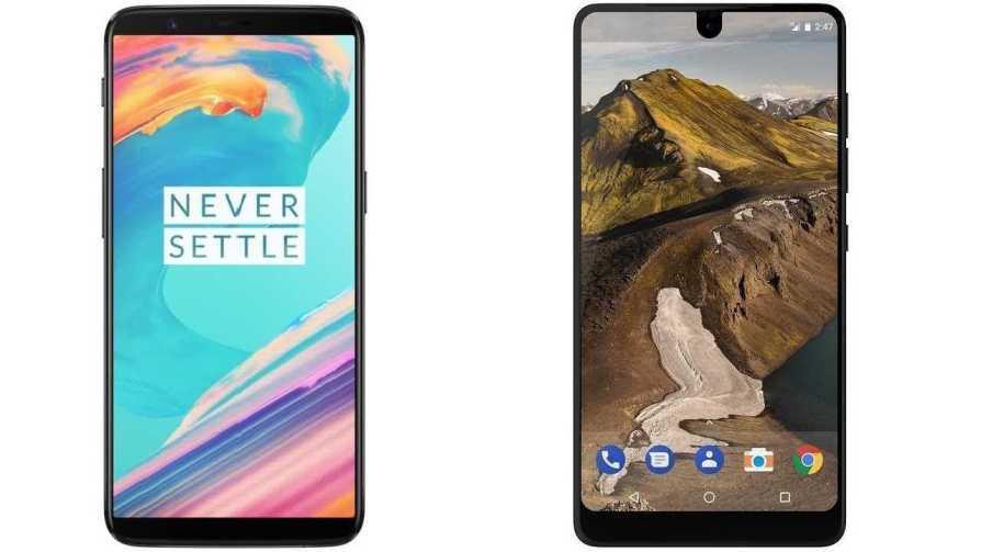 Essential Phone vs OnePlus 5T