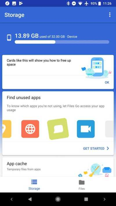 Google's Files Go Can Disrupt Third Party File Managers