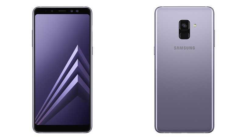 Samsung Galaxy A8 2018 vs Galaxy A5 2017
